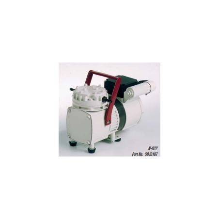 N-022 típusú 13 liter / perces, 100 mBar végvákuumú membrán vákuumpumpa