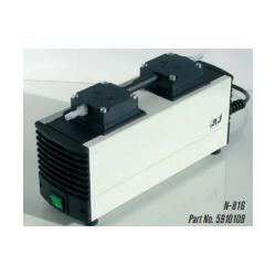 N-816 típusú 16 liter / perces, 20 mBar végvákuumú membrán vákuumpumpa