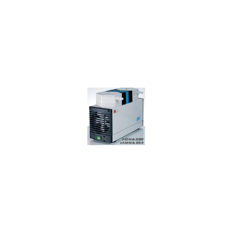 N-840 típusú 34 liter / perces, 8 mBar végvákuumú membrán vákuumpumpa