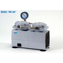 MV100 típusú 200 mBar végvákuumú membrán vákuumpumpa,...