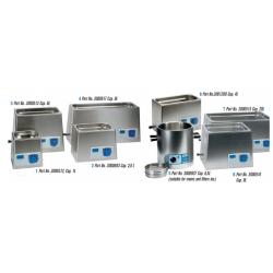 Ultrasons 9 literes, analóg fűtés nélküli ultrahangos vízfürdő, szélesített kivitel
