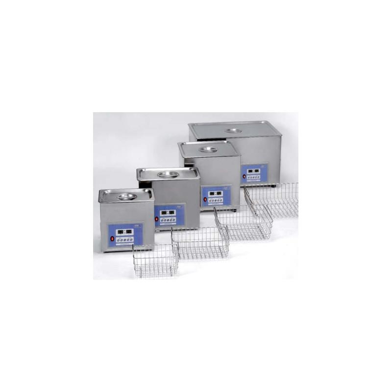 Ultrasons-HD 10 literes, digitális fűtött ultrahangos vízfürdő