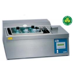 Unitronic-C típusú digitális, hűthető-fűthető lineáris rázó vízfürdő, 27 literes