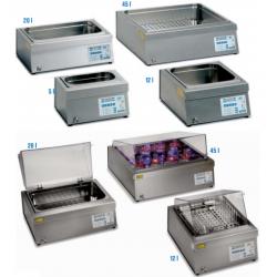 PRECISDIG típusú 12 literes, digitális laboratóriumi vízfürdő, környezeti hőmérséklet +5°C - 200°C