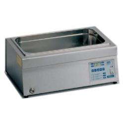 AGIBAT-20 típusú 20 literes, digitális belső keringetésű precíz tető nélküli vízfürdő, környezeti hőmérséklet +5°C - 80°C