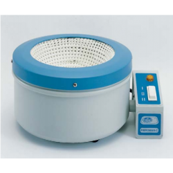Fibroman-C típusú, analóg lombikmelegítő fűtőkosár, 20 000 ml-es kapacitással, nagyméretű lombikokhoz