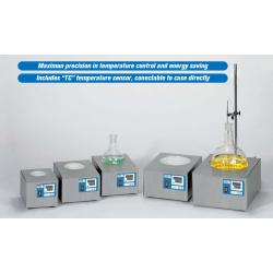 Fibroman HT-W típusú, digitális lombikmelegítő fűtőkosár, 100 ml-es kapacitással
