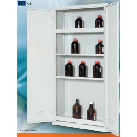 Fém vegyszerszekrény, vegyszertároló szekrény