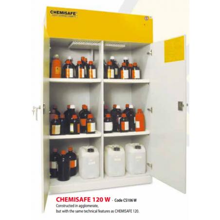 Biztonsági vegyszerszekrény, vegyszertároló szekrény