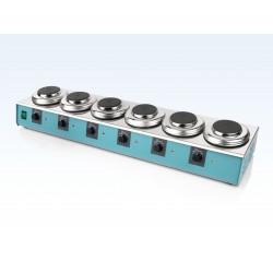 LABINCO L366 hathelyes analóg laboratóriumi lombikmelegítő, helyenként max. 1 literhez, max. 450°C
