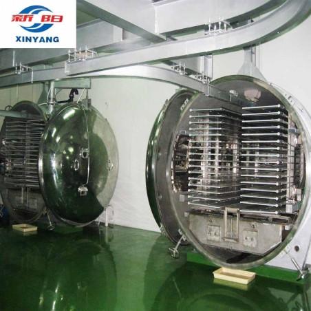 LG50.0 üzemi liofilizáló, liofilező, fagyasztva szárító, kb. 600 kg alapanyag liofilizálásához