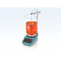 LABINCO LD81, teflon bevonatos digitális fűthető mágneses keverő, hőmérséklet szenzorral, max. 60 literhez, max. 450°C
