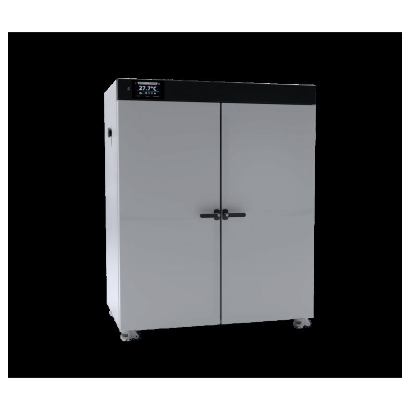 SLW750 típusú, 749 literes, ventilátoros légkeverésű nagyméretű, ipari szárítószekrény (környezeti hőm. +5°C - +300°C)