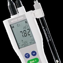 METTLER TOLEDO FiveGo F2 hordozható pH mérő, kézi pH mérő készülék