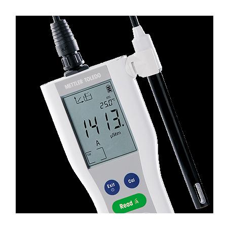 METTLER TOLEDO FiveGo F3 hordozható vezetőképesség mérő készülék, kézi vezkép mérő