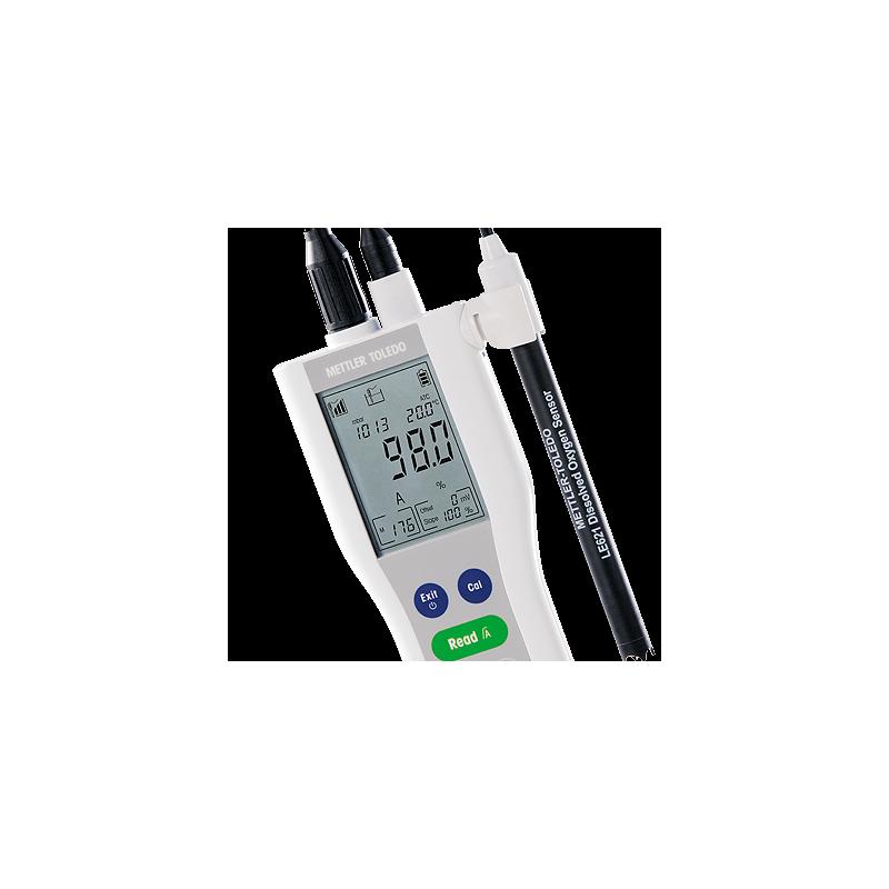 METTLER TOLEDO FiveGo F4 hordozható oldott oxigén mérő készülék, kézi DO mérő