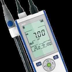 METTLER TOLEDO Seven2Go S2 hordozható pH mérő, kézi pH mérő készülék