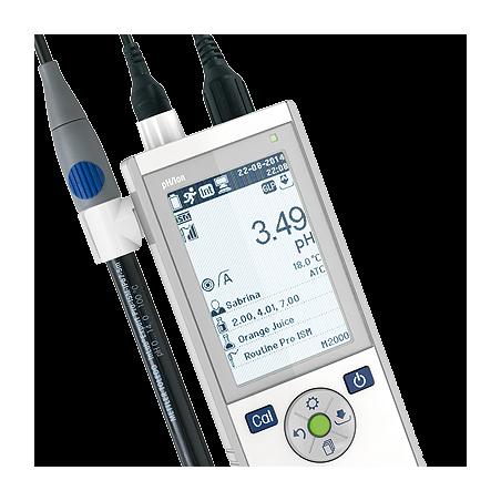 METTLER TOLEDO Seven2Go S8 hordozható, egycsatornás pH és ionkoncentráció mérő készülék