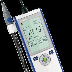 METTLER TOLEDO Seven2Go S3 hordozható vezetőképesség mérő, kézi vezkép mérő készülék