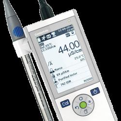 METTLER TOLEDO Seven2Go Pro S7 hordozható vezetőképesség mérő, kézi vezkép mérő készülék
