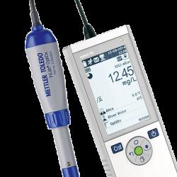 METTLER TOLEDO Seven2Go Pro S9 hordozható oldott oxigén mérő készülék, kézi DO mérő optikai szenzorral