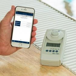 Lovibond MD110 vízanalitikai fotométer és szennyvízanalitikai fotométer, bluetooth csatlakozással