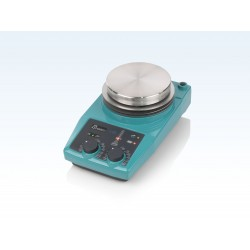 LABINCO L82, analóg, rozsdamentes acél lapos fűthető mágneses keverő, max. 10 literhez, max. 325°C