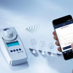 Lovibond MD110 Bluetooth-os vízanalitikai fotométer és szennyvízanalitikai fotométer