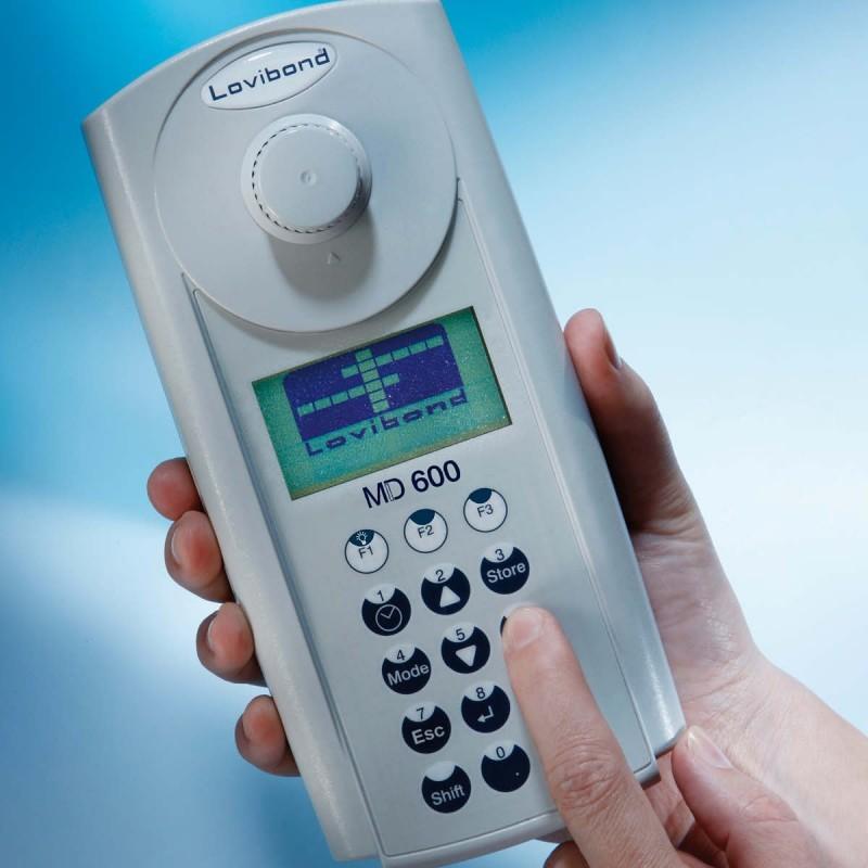 Lovibond MD600 vízanalitikai fotométer és szennyvízanalitikai fotométer