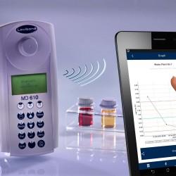 Lovibond MD610 Bluetooth-os vízanalitikai fotométer és szennyvízanalitikai fotométer