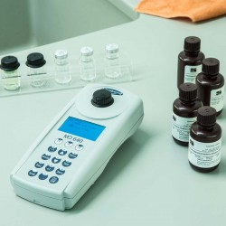 Lovibond MD640 vízanalitikai fotométer, p-toluolszulfonsav (PTSA) és fluoreszcein meghatározására is
