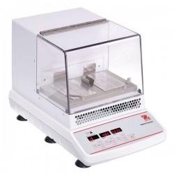 OHAUS ISICMBCDG digitális, inkubált körkörös rázógép, 2 microplate vagy 2 blokk kapacitással és 3 mm-es kilengéssel