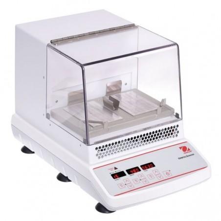 OHAUS ISICMBCDG inkubált digitális körkörös rázógép, 2 microplate vagy 2 blokk kapacitással és 3 mm-es kilengéssel