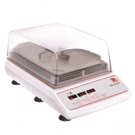 OHAUS ISLDMPHDG inkubált digitális körkörös rázógép, 65°C-ig, 4 microplate kapacitással és 3 mm-es kilengéssel
