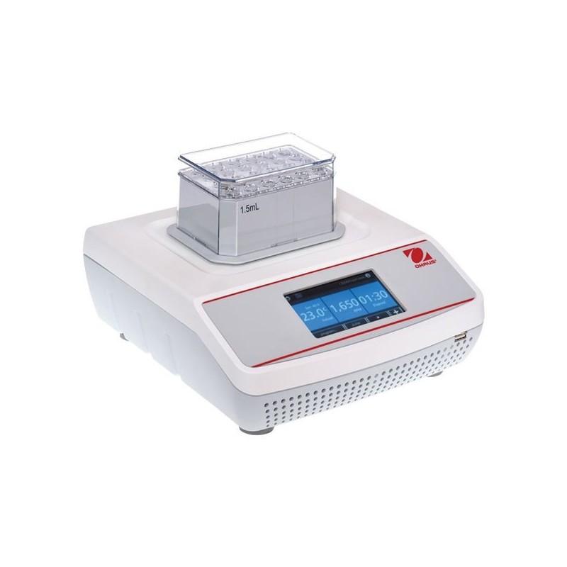 OHAUS ISTHBLCTS inkubált digitális körkörös hűthető blokkroncsoló, 100°C-ig, 1 blokkos kapacitással és 3 mm-es kilengéssel