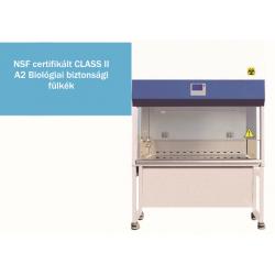 BIOBASE BSC4FA-2 típusú NSF certifikált Class II A2 biológiai biztonsági fülke, biohazard fülke 1210 mm hasznos szélesség