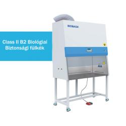 BIOBASE BSC-1300IIB2-X típusú Class II B2 biológiai biztonsági fülke, 1300 mm széles