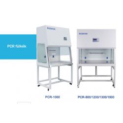 BIOBASE PCR-1300 típusú PCR fülke, 1300 mm széles