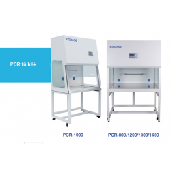 BIOBASE PCR-1500 típusú PCR fülke, 1500 mm széles
