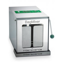 INTERSCIENCE BagMixer® 400 CC® betekintő ablakos mikrobiológiai homogenizáló, max. 40g mintához, 50 - 400 ml kapacitással