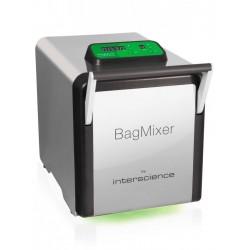 INTERSCIENCE BagMixer® S halk mikrobiológiai homogenizáló, max. 40g mintához, 50 - 400 ml kapacitással