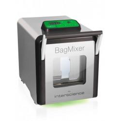 INTERSCIENCE BagMixer® SW halk betekintő ablakos mikrobiológiai homogenizáló, max. 40g mintához, 50 - 400 ml kapacitással