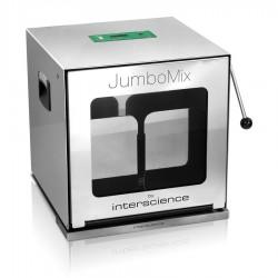 INTERSCIENCE JumboMix 3500 W CC betekintő ablakos mikrobiológiai homogenizáló, max. 400g mintához, 200 - 3750 ml kapacitással