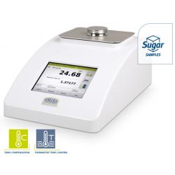 KRÜSS DR6200 asztali digitális refraktométer, belső hőmérséklet szabályozás nélkül, hőmérséklet kompenzációval