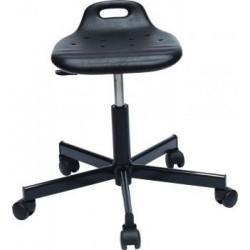 Smile lift laboratóriumi szék, poliuretán ülőfelülettel