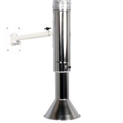 FUMEX MEX AA teleszkópos elszívó karok, pontelszívók magas hőmérsékletű AAS rendszerekhez